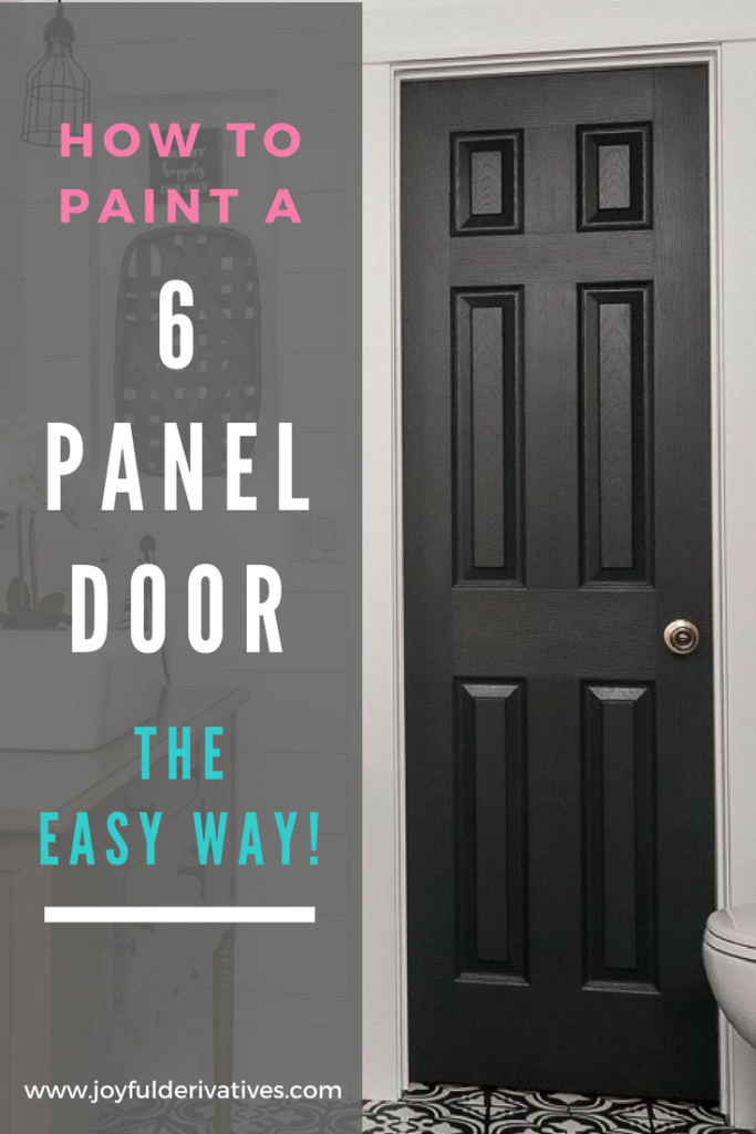 How to Paint a Panel Door Perfectly in Under an Hour ...