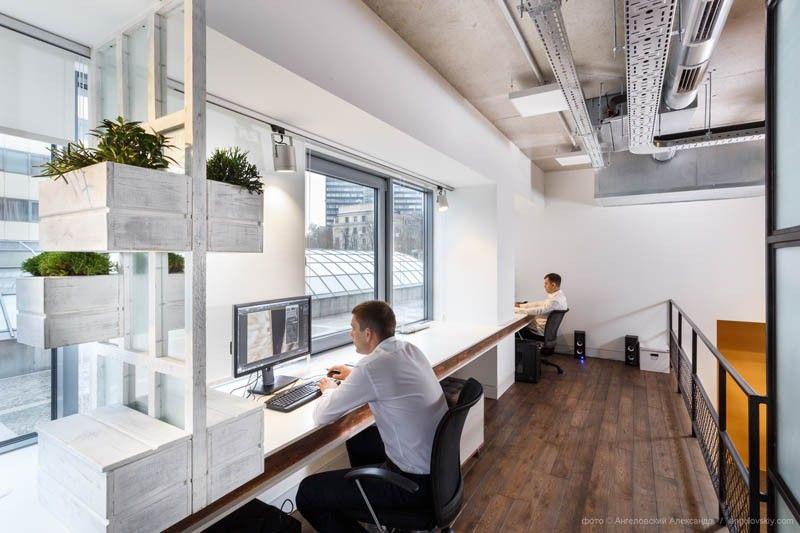 Dit is wat er gebeurt als interieurontwerpers hun eigen kantoor