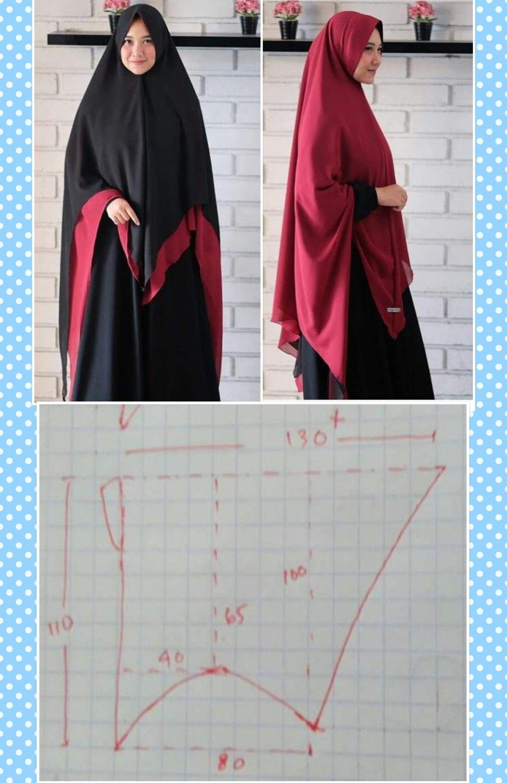 Hijab Syari Di 2020 Rompi Wanita Gaya Abaya Model Baju Wanita