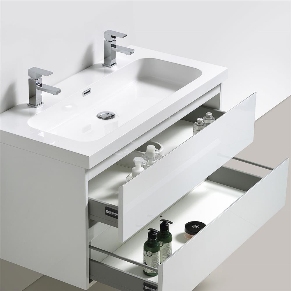i grande meuble salle bains blanc happy et plan vasque ...