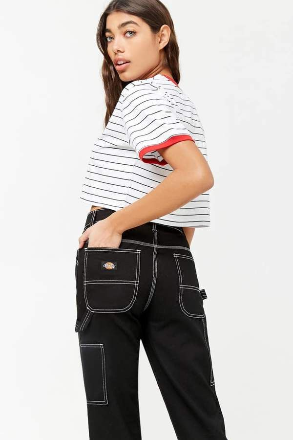 bfcc250e51b FOREVER 21 Dickies Stitch Cargo Jeans | Pinterest Closet For Girls ...