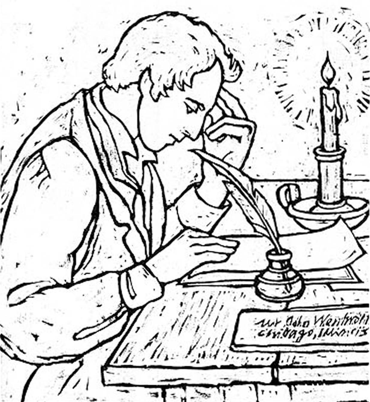 Joseph Smith Coloring Page Coloring Pages Joseph Smith Color