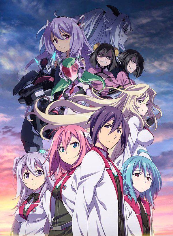 Gakusen Toshi Asterisk 2nd Season Genres Comedy Ecchi Fantasy Harem Romance School Sci Fi Supernatural