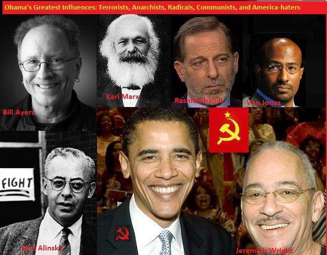 Image result for obama radicals wright