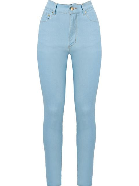 5934fcd38b Amapô Calça jeans skinny cintura alta