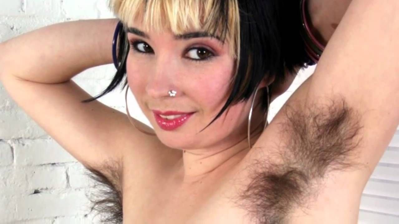 Sexy hairy arm pits