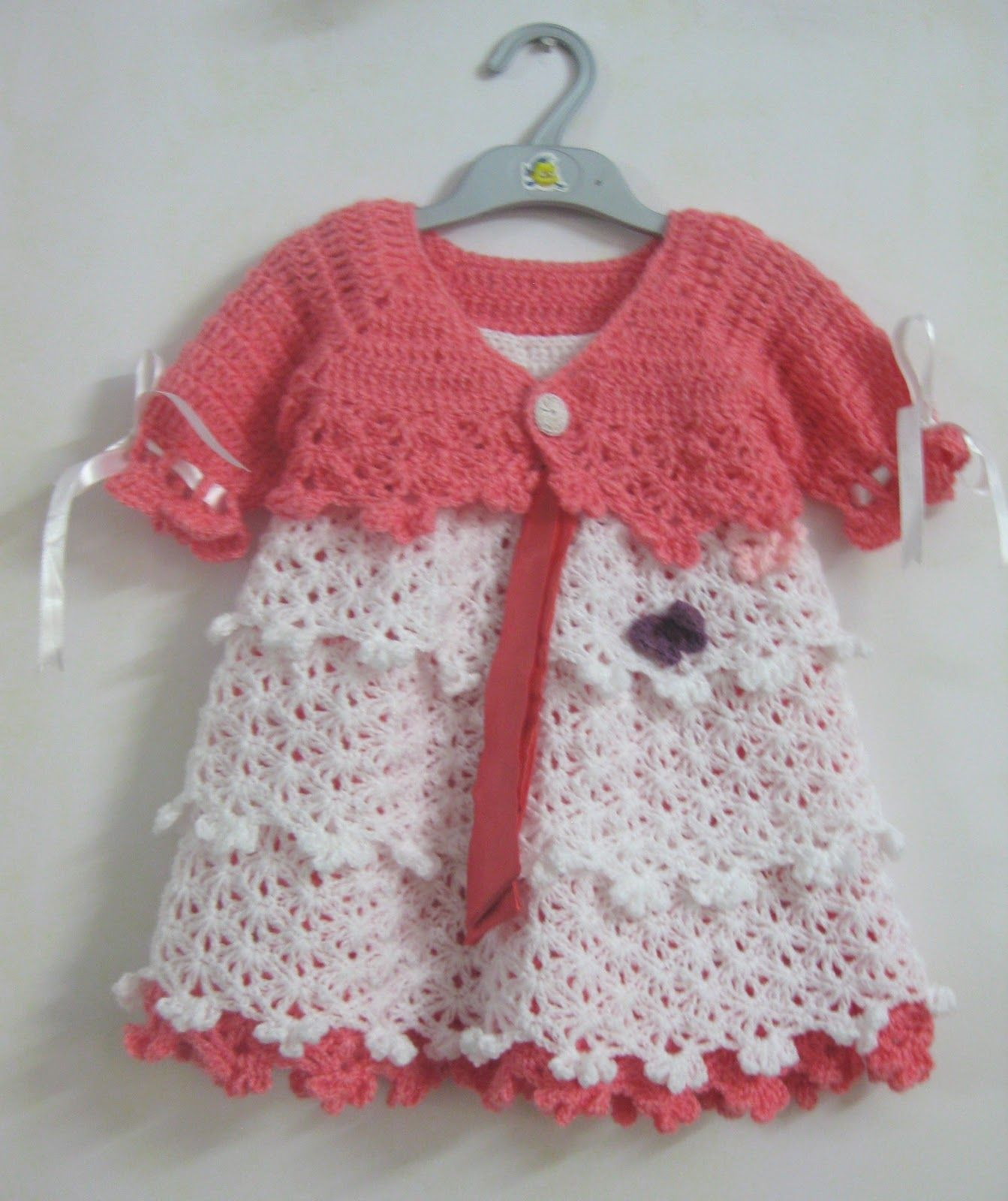 crochet baby dresses Wel e Winter Girl s dresses