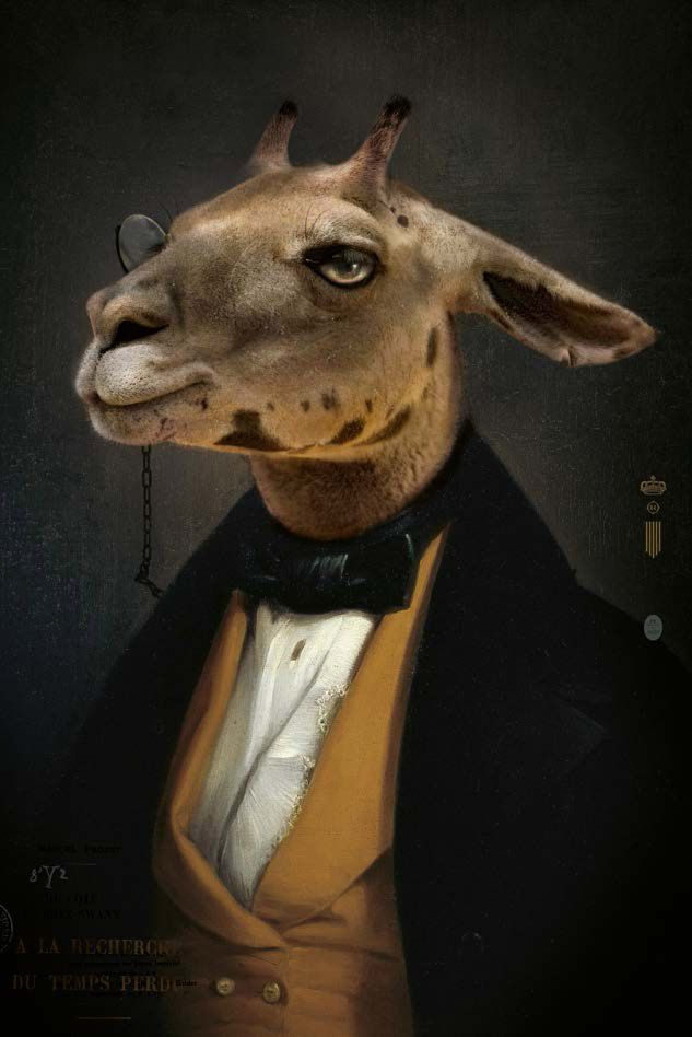 Ibride les dandys charles ibride vintage posters pinterest animal portraits and illustrations - Les dandys ibride ...