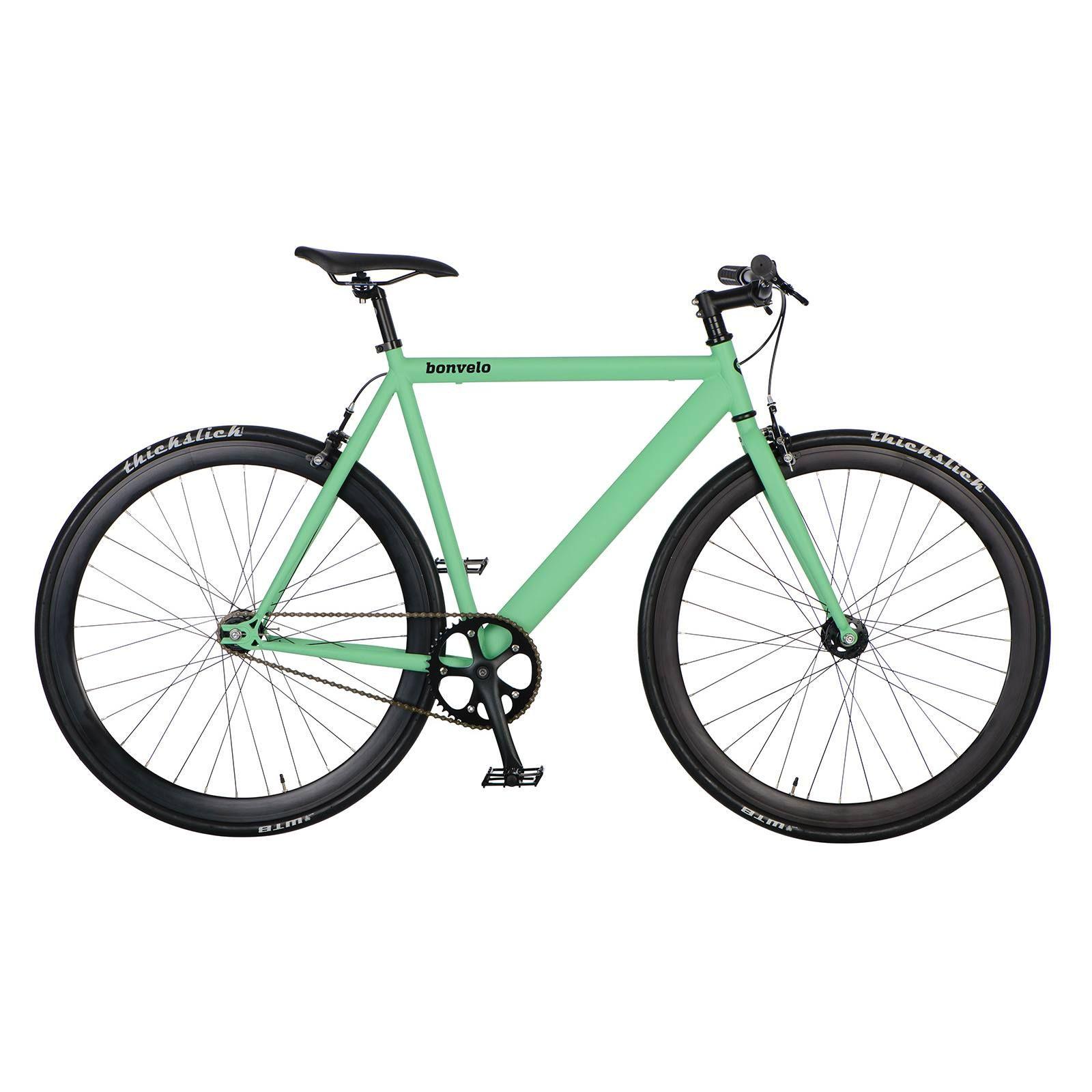 Blizz Velvet Green Fixed Gear Bike Fixed Gear Bike