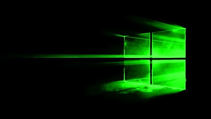 19201080 Green Windows 10 Wallpaper Imgur 4k 4k In 2020 Green Windows Desktop Wallpaper 1920x1080 Desktop Wallpaper Black