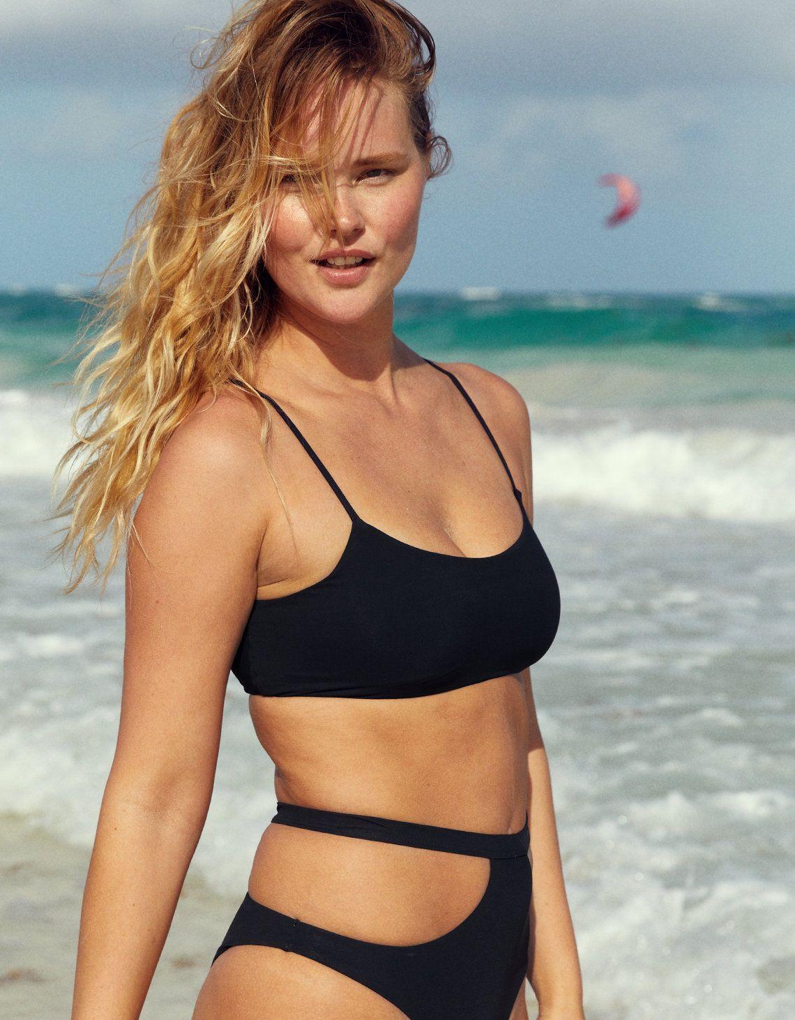 64f7c73ee6e5f Aerie Swim, love this sport top | outstanding | Bikinis, Scoop ...