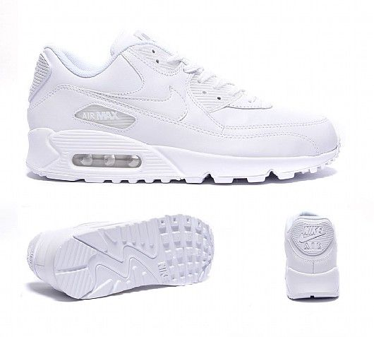 Nike Air Max 90 Leather Men's Trainersr Discount