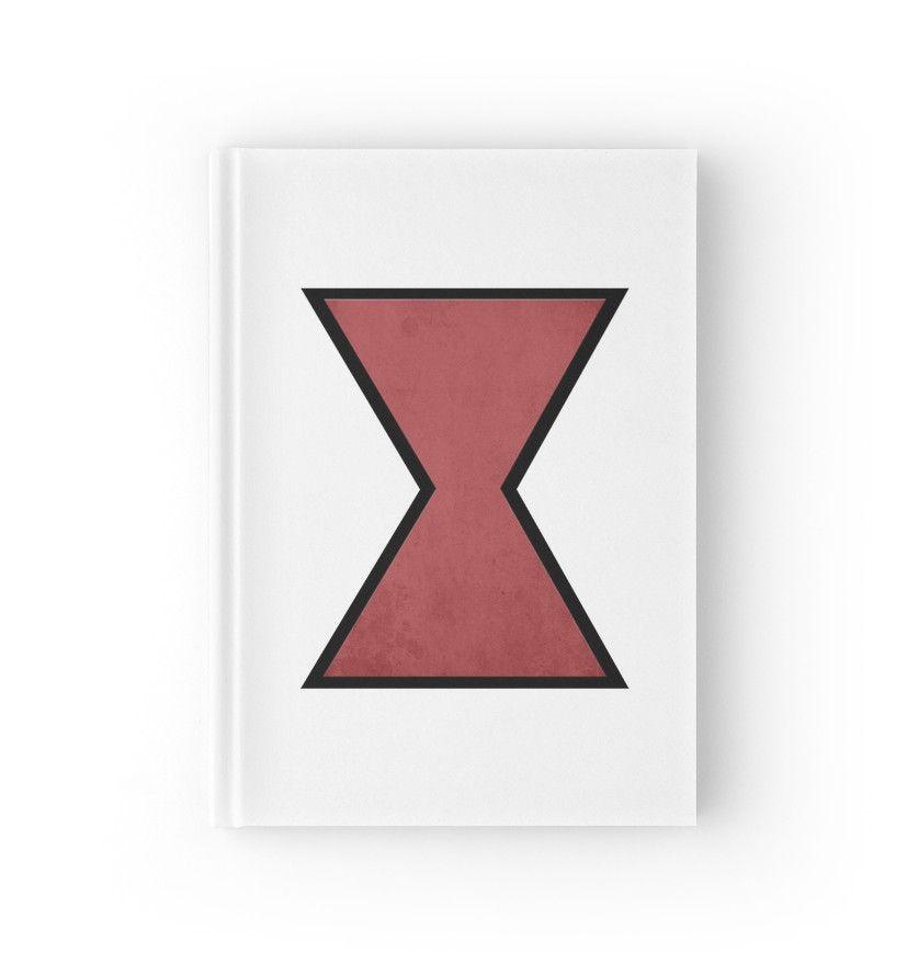 Marvel Notebook Avengers Widow Symbol Notebooks To Buy