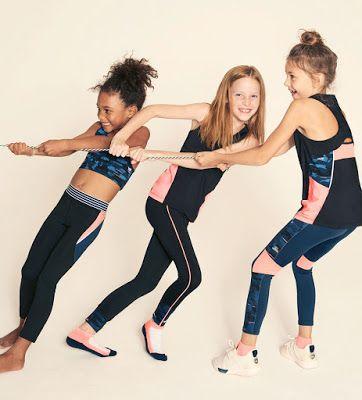 f27ab0548 Ropa deportiva para niños ¡10 Maravillosas Tendencias en Outfits! in ...