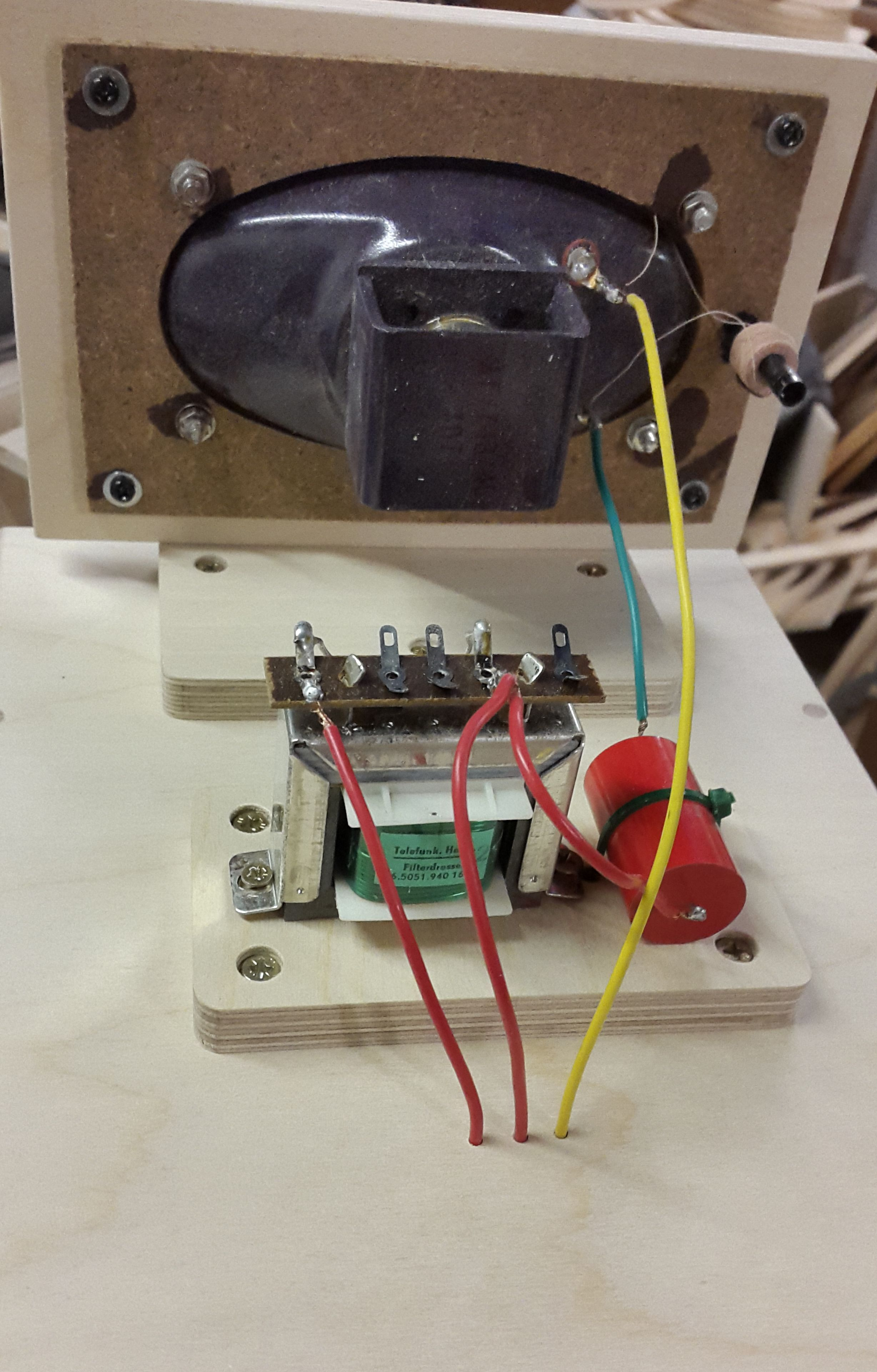 telefunky telefunken inductor metalised polypropylene film capacitor wire wound resistor [ 2456 x 3840 Pixel ]