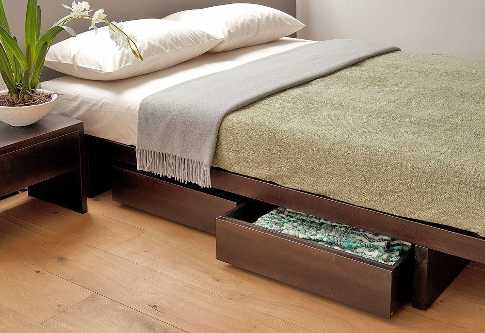 A collection of under-bed drawers which work beautifully with our ...