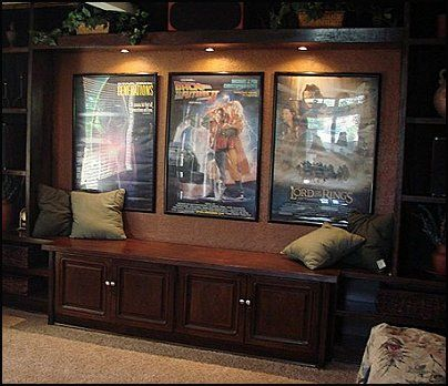 movie themed room ideas moviethemedposters hometheaterdecorating - Home Cinema Decor