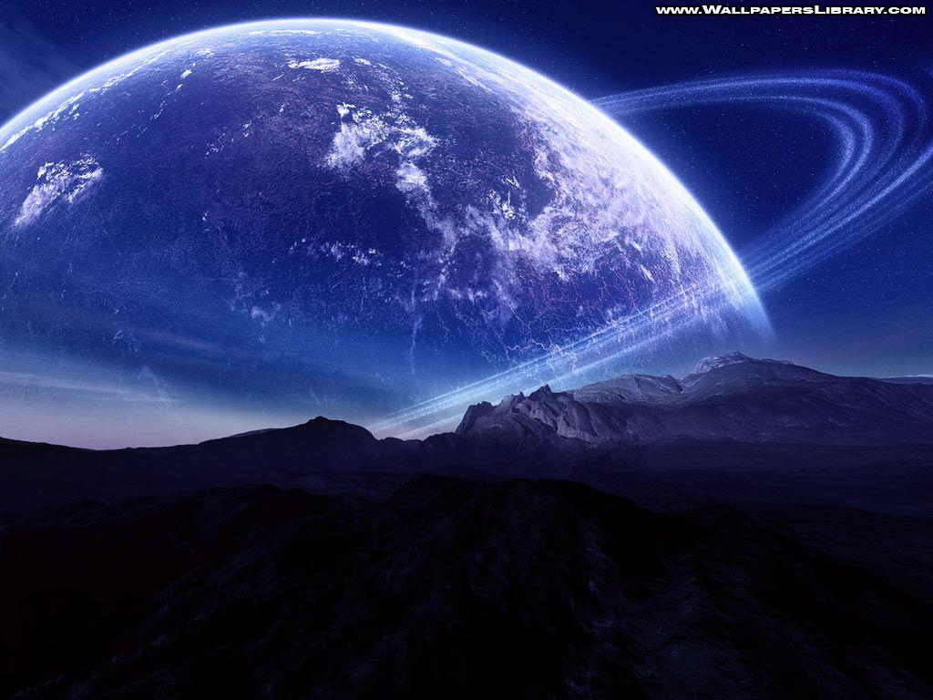 Unknown Blue Planet Wallpaper
