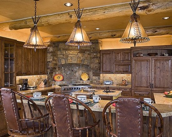 Real Life Inspiration: Native American Inspired Kitchen | Stylish Western Home Decorating