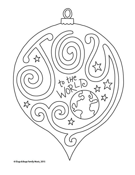 Joy To The World Christmas Coloring Page Kids Holiday Slugs And Rhpinterest: Christmas Coloring Pages Joy At Baymontmadison.com