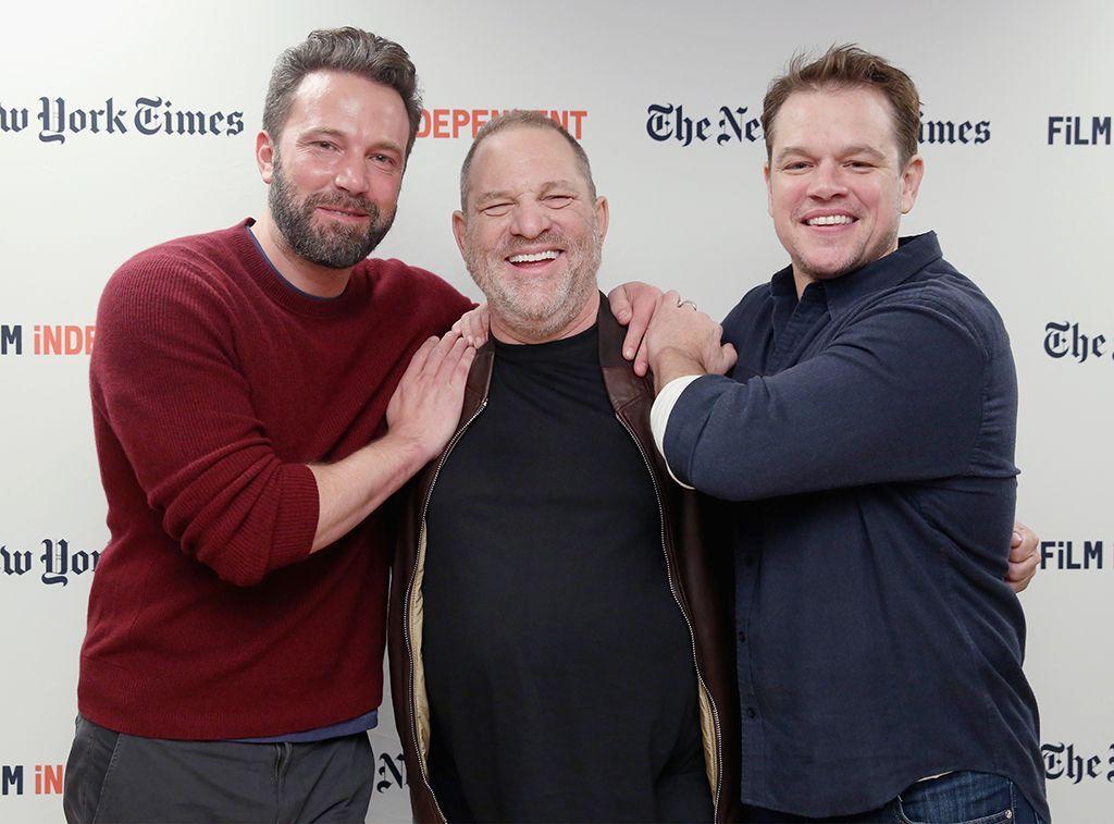 How The Harvey Weinstein Scandal Has Become A Nightmare For Ben Affleck And Matt Damon Matt Damon Harvey Weinstein Ben Affleck