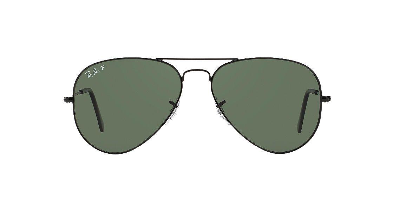 e928a64d2b ... new zealand ray ban black rb3025 55 original aviator green polarized  lenses 55mm 09d48 e33d1