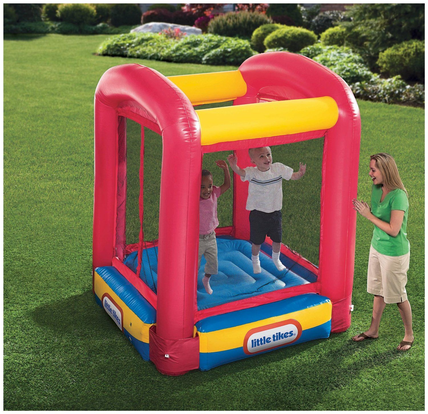 Little Tikes Bounce House Trampoline Giveaway JamericanSpice