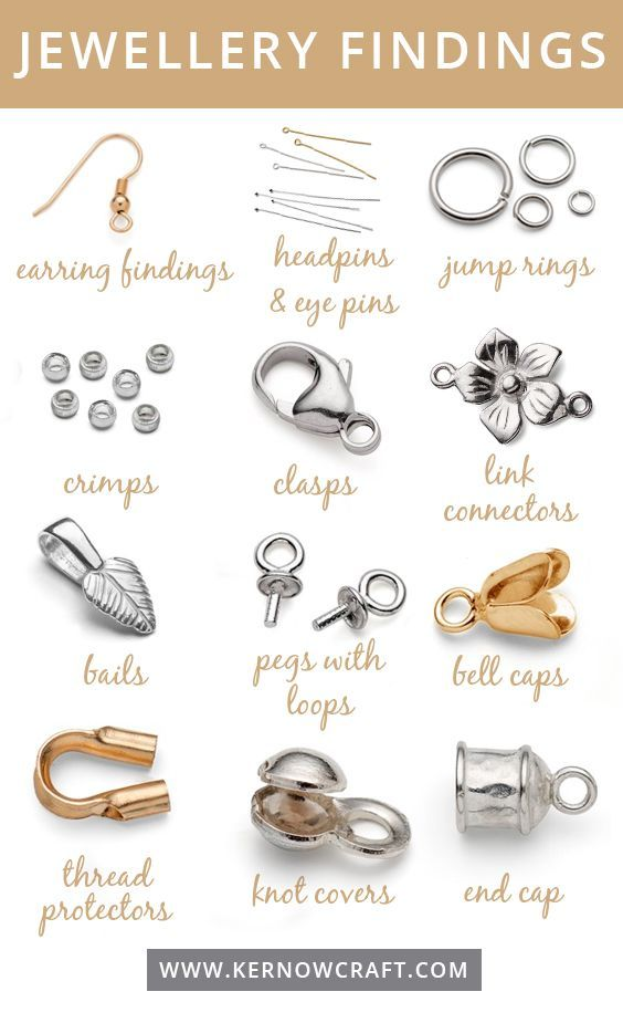 Photo of Jewelry Findings Guide – This guide shows you the most popular jewelry …