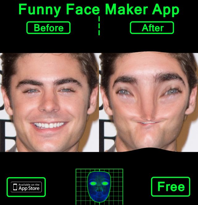 Check this photo I created with Funny Face Maker Booth App | Funny