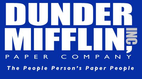 Http Www Bumperstickerz Com Images 10000238 00 04 00 00 Lg Png The Office Stickers Paper Companies Dunder Mifflin