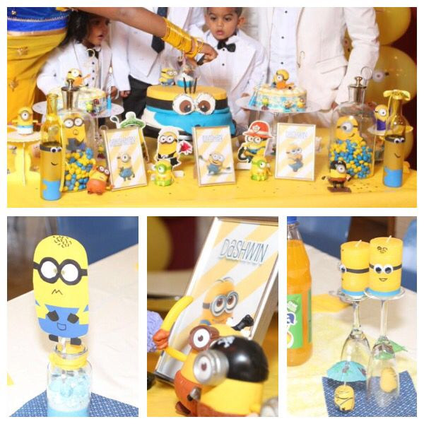 Minion Birthday Party diy