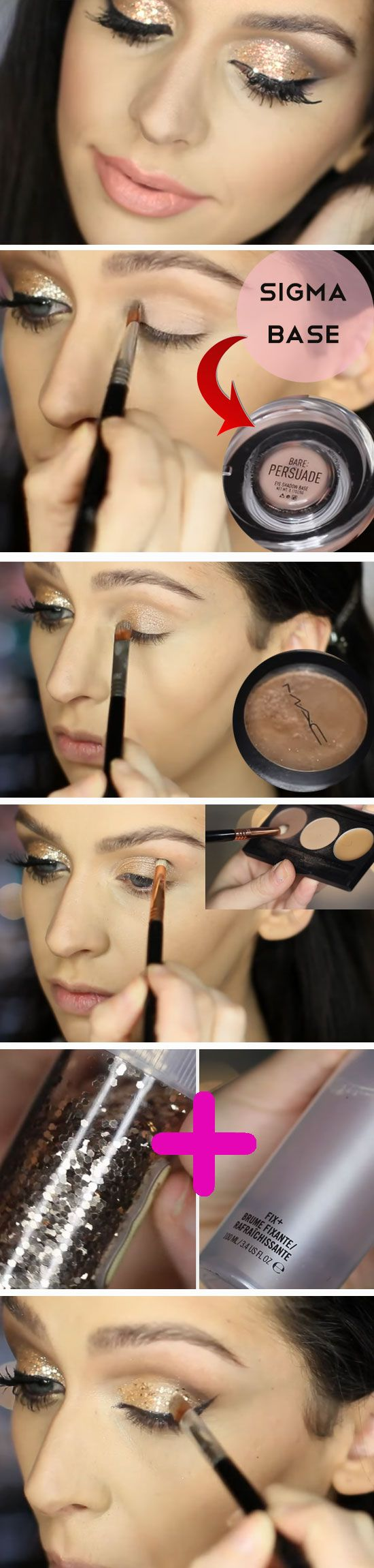 18 Awesome Prom Makeup Ideas for Blue Eyes | Auge, Haar und beauty ...