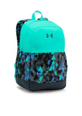 Under Armour Girls Girls Ua Backpack - Black - One Size  2e0881ee0b213