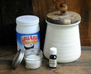 Homemade Lavender Body Scrub 1