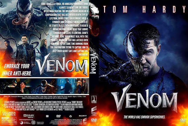 Venom DVD Cover   Dvd covers, Dvd cover design, Custom dvd
