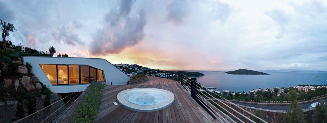Inspiring View  Cascading Lava Flows Inspiring Modern Architecture: Hebil 157 Houses by Aytac Architects