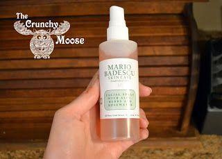 Badescu Crunchy Facial Mario Moose Review Spray The