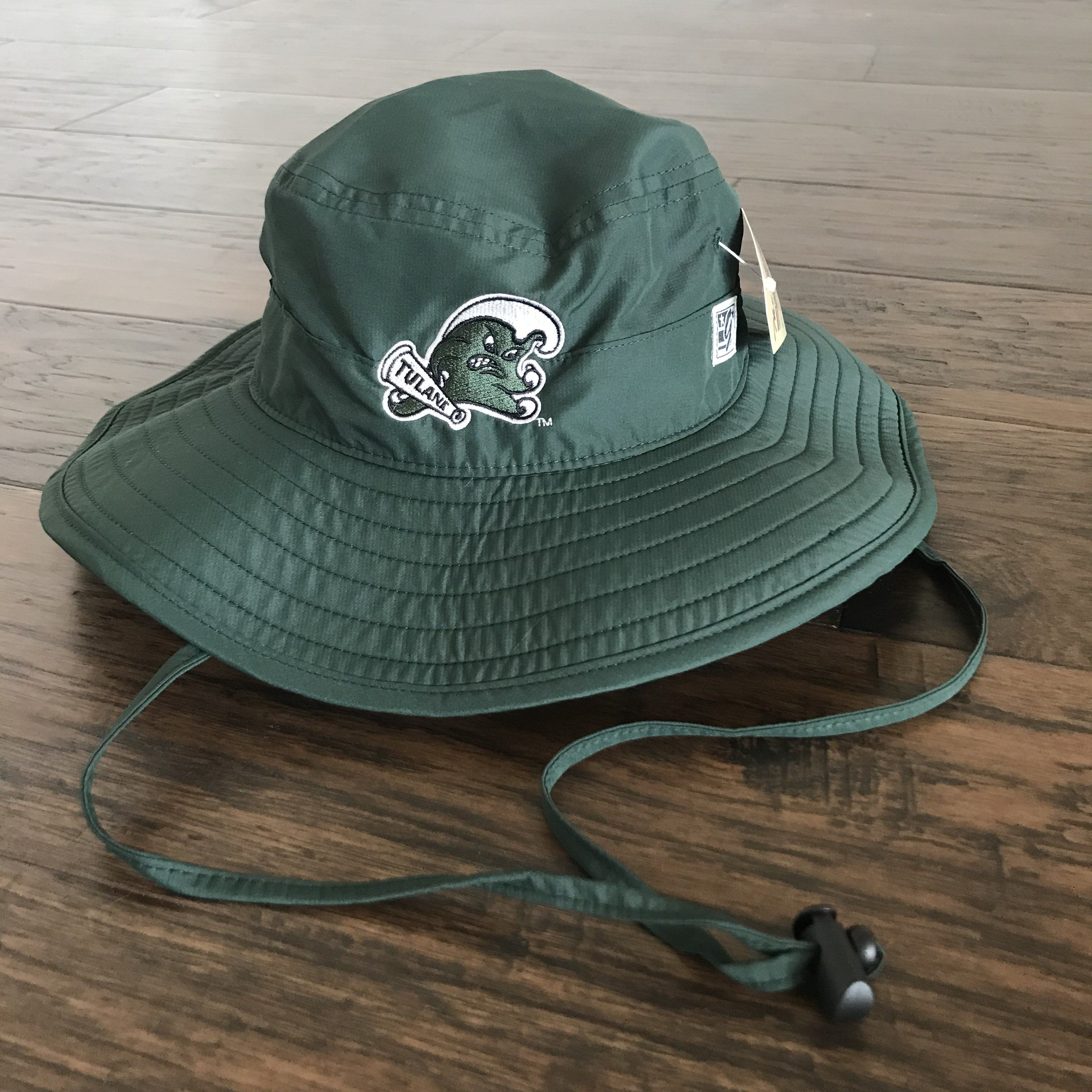 Tulane Angry Wave Bucket Hat Mens Accessories Fashion Hats Popular Hats