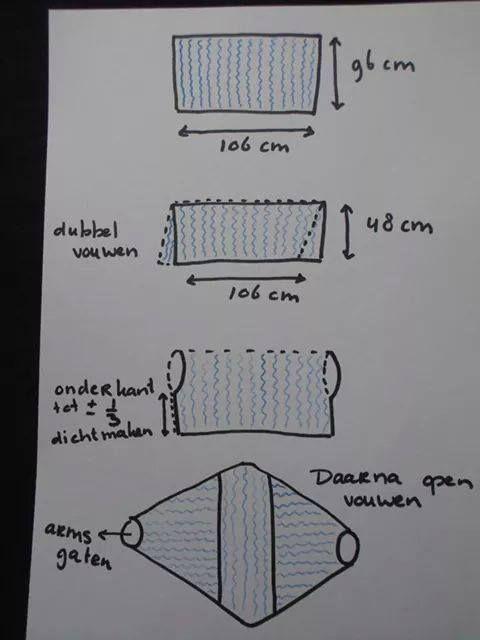 Voorbeeld Tekening Shrug Haken Crochet Crochet Knitting