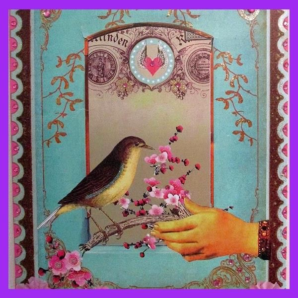 Victorian bird art panel celebrate easter with unique gifts victorian bird art panel negle Choice Image