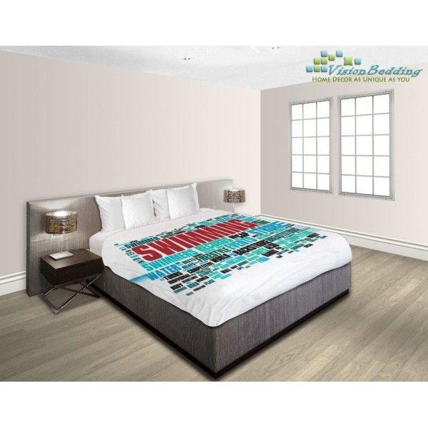 Swimming Bed Sheet 18032457 | VisionBedding