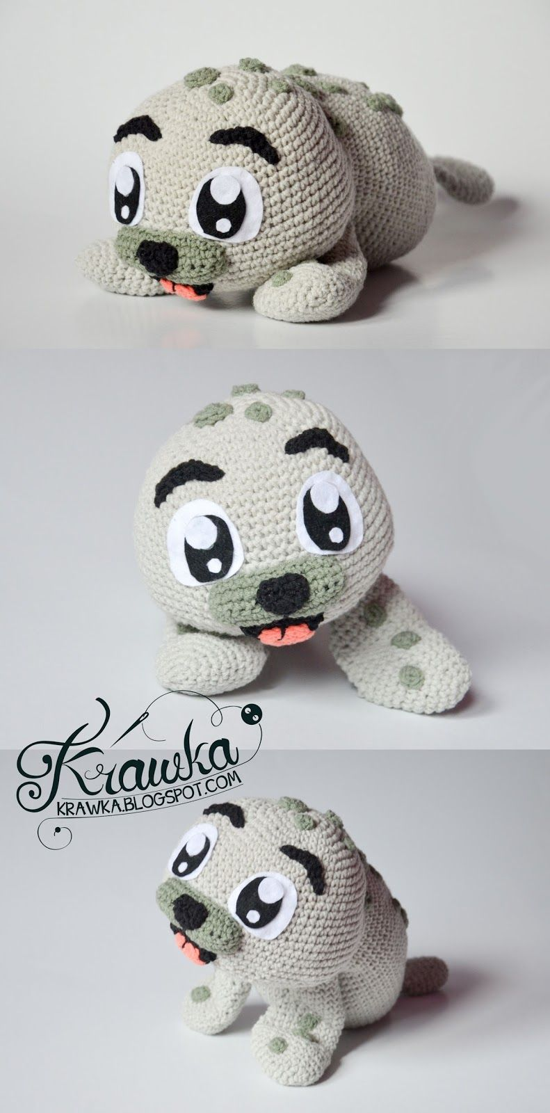 Baby seal pattern | Crochet Dolls and Plushies | Pinterest | Hermosa