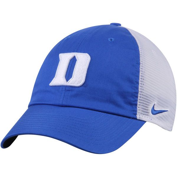size 40 f1a33 66097 ... sweden duke blue devils nike heritage 86 trucker adjustable hat royal  white 24.99 cc29c 38822