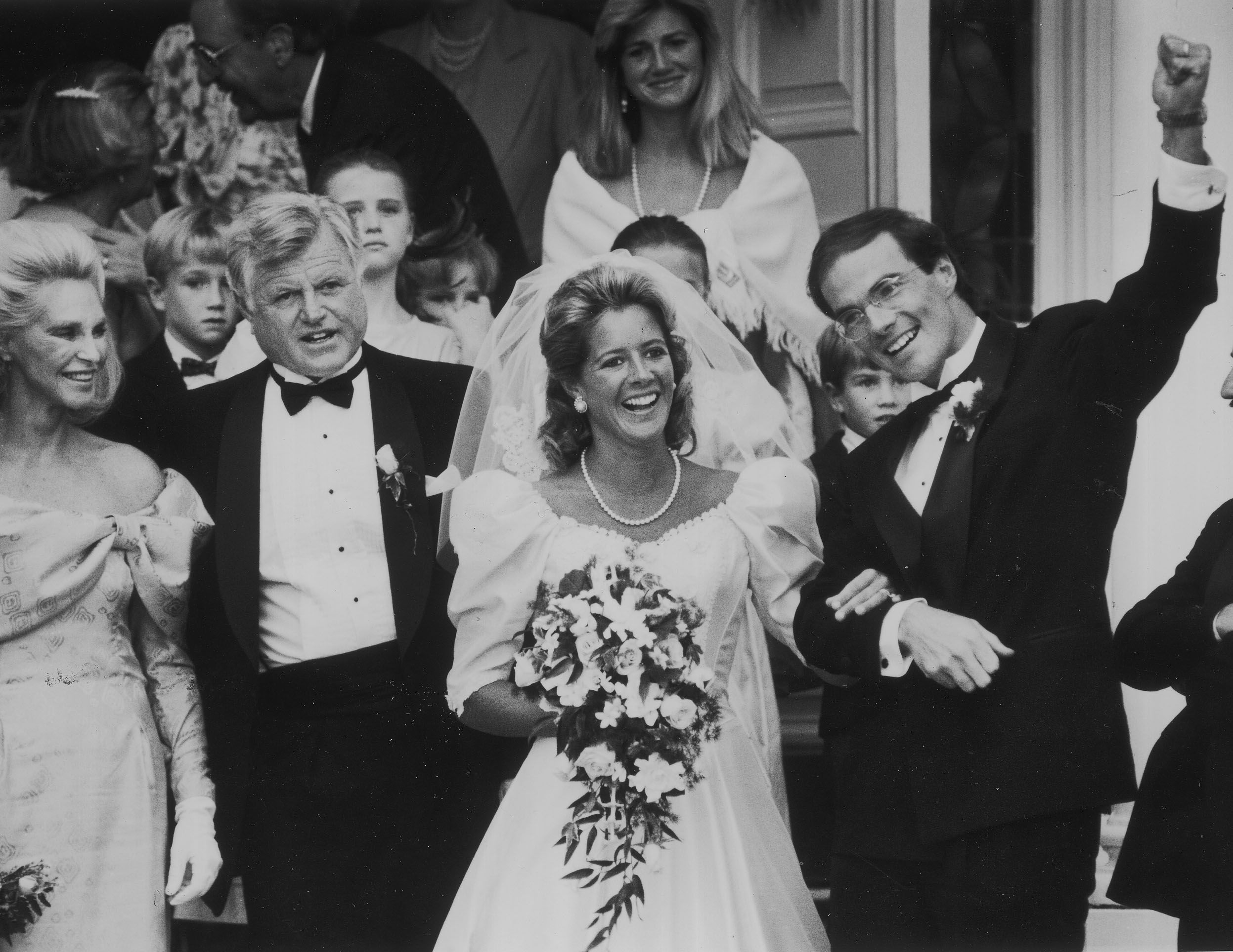Looking Back At A Century S Worth Of Kennedy Weddings Kennedy Family Patricia Kennedy Ted Kennedy
