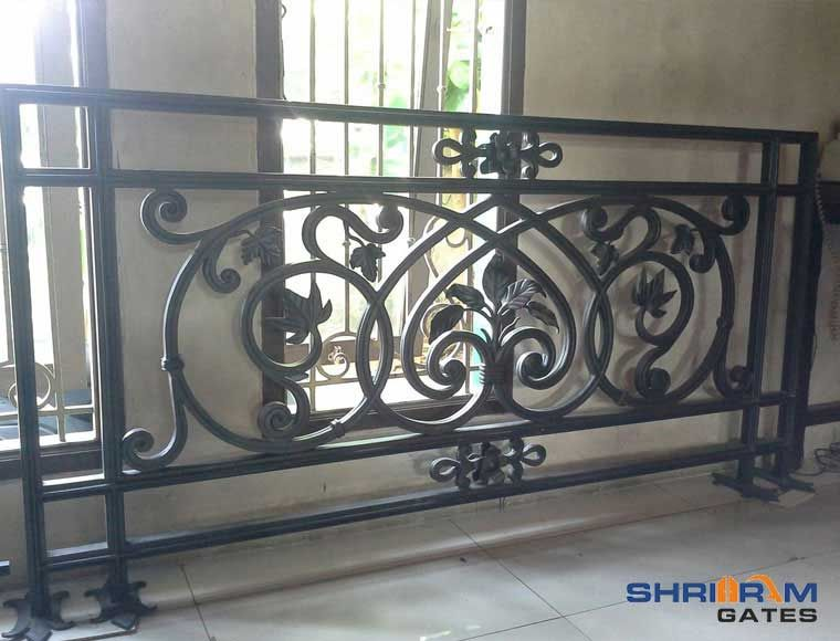 Cast Iron Railings - wrought Iron Balcony Railings for ...