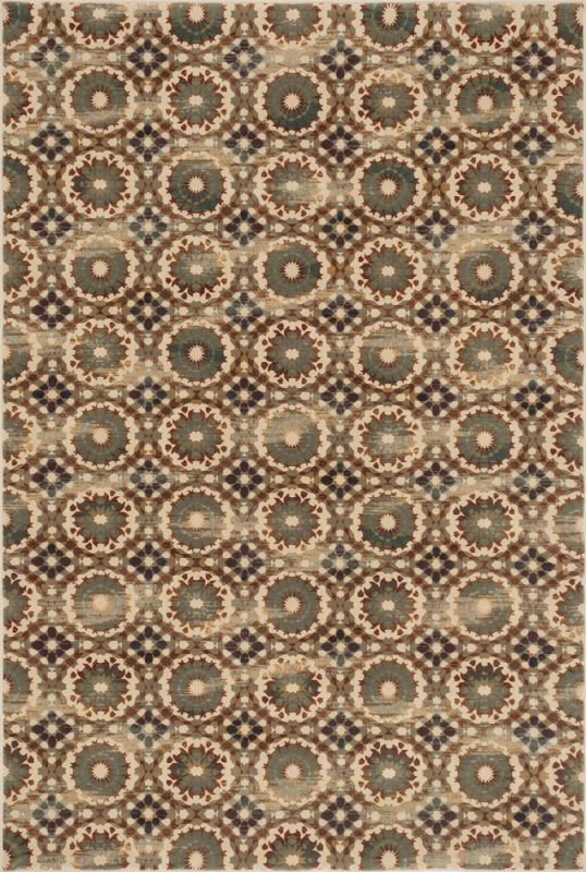 Loloi Rugs Vista 07IVRU Power Loomed Polypropylene Transitional Area Rug 4 x 5 Home Decor Rugs Rugs