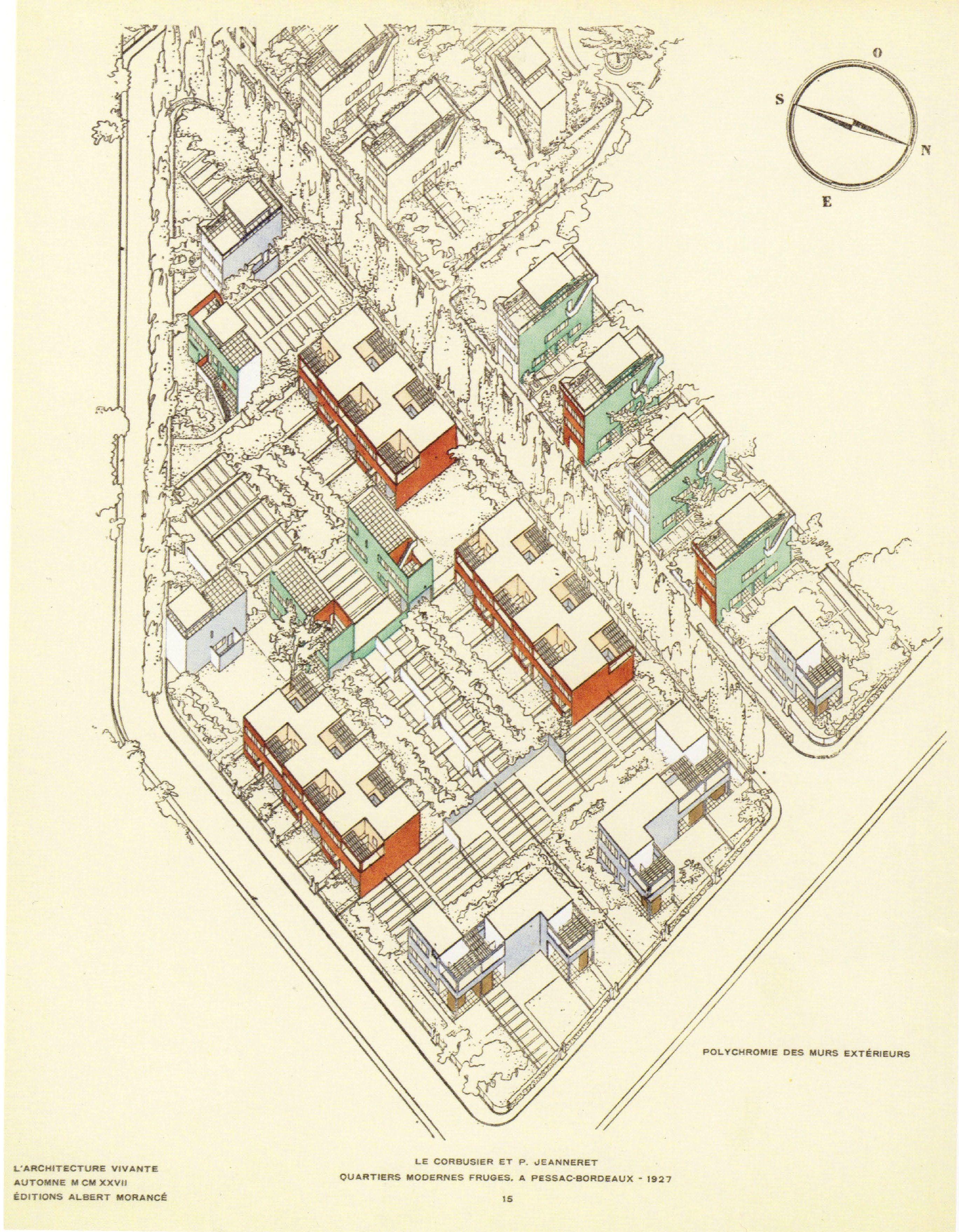 1924 pinterest le corbusier social. Black Bedroom Furniture Sets. Home Design Ideas