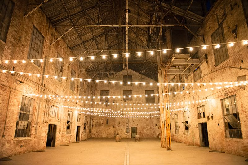 awesome wedding photographer at a warehouse in america