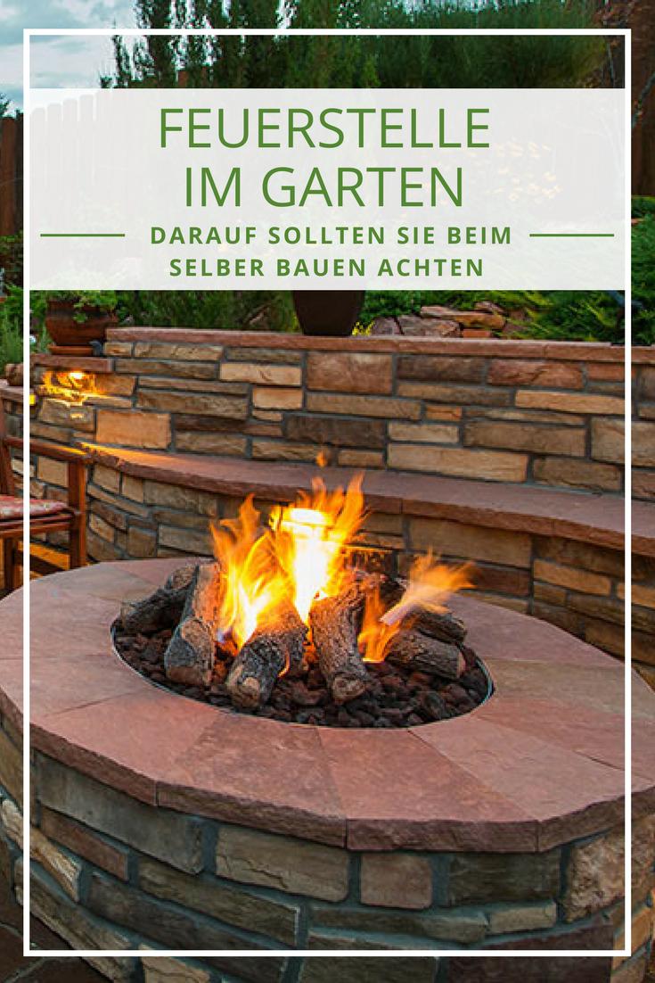 Feuerstelle Im Garten Tipps Zum Feuerstelle Selberbauen