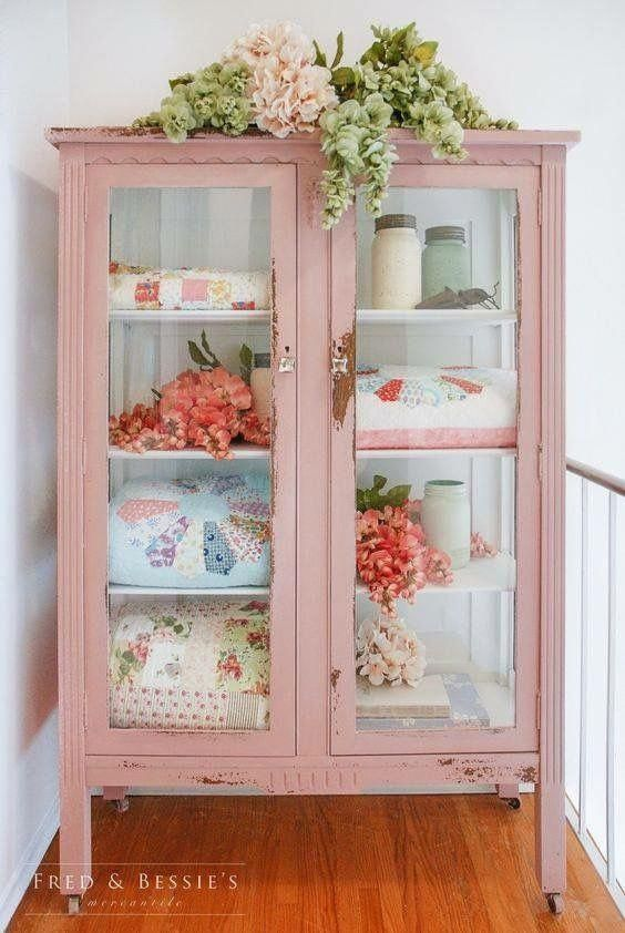 Photo of Shabby chic pink storage #Shabbychicdressers » Ernährungsplan